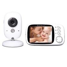 New doppler fetal baba electronics 3.2 inch IR Night vision Intercom Lullabies Temperature monitor Pan/Tilt camera fetal doppler