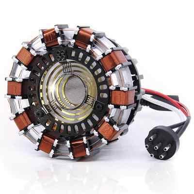 1:1MK1 Iron Man Arc Reactor Luce A Distanza FAI DA TE Parti di Modello Assemblato core display stand (versione Aggiornata di display stand) AG672