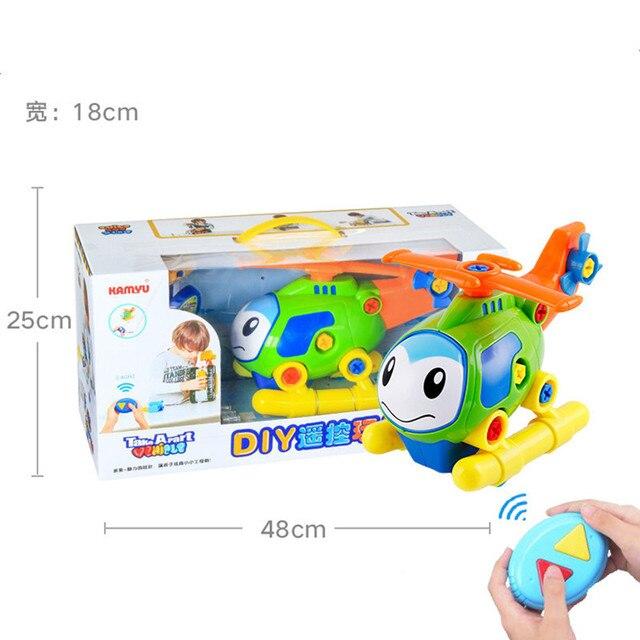 DIY Pembongkaran Perakitan Mainan untuk Anak-anak Insinyur Truk Mobil Helikopter Kereta Pendidikan Blok Mainan Sekrup Nut # Car008
