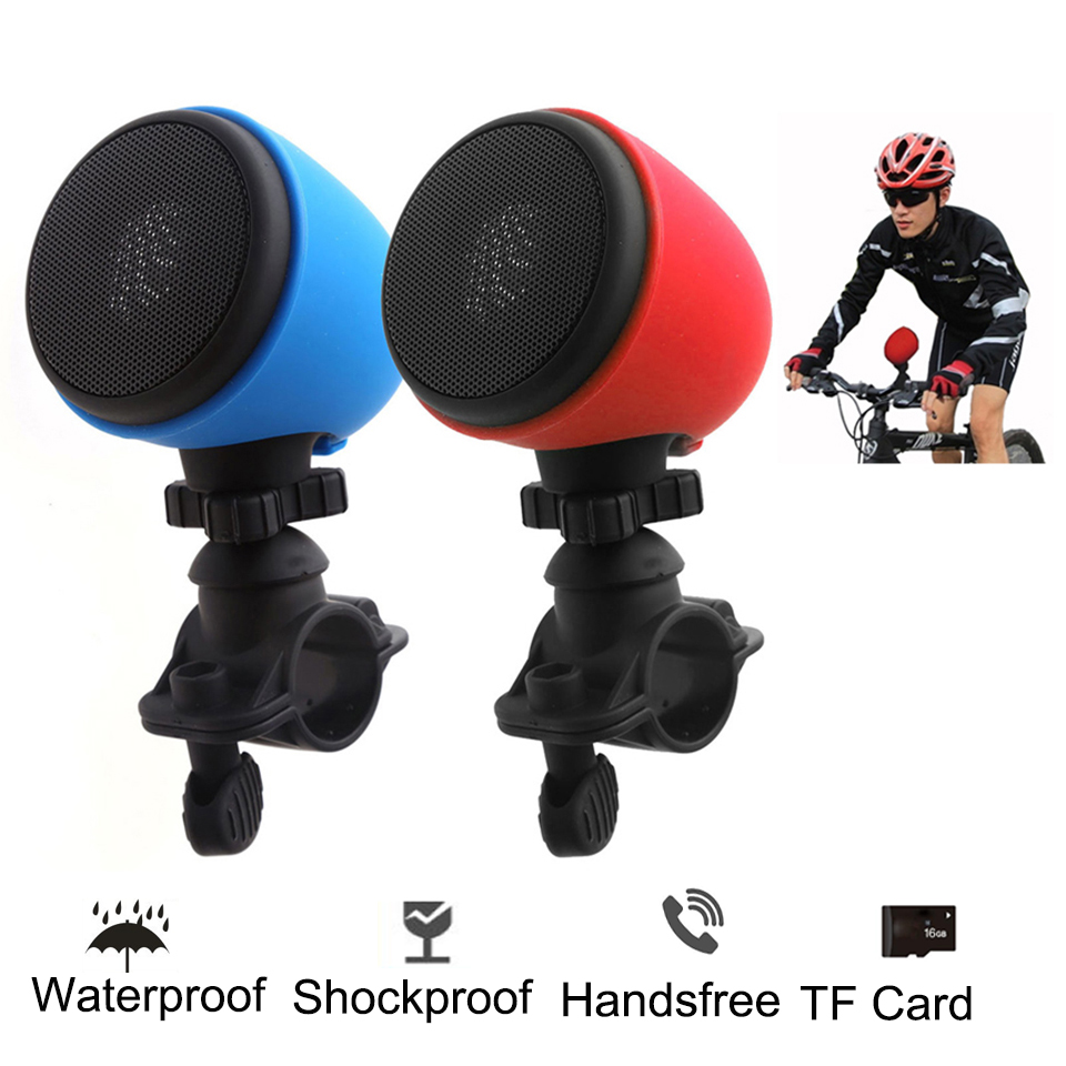 Portable Outdoor Wireless Speaker Motorcycle/Bicycle Bike Waterproof Handsfree Bluetooth Speaker For Phone TF Music Subwoofer universal bluetooth v3 0 wireless handsfree speaker phone speaker