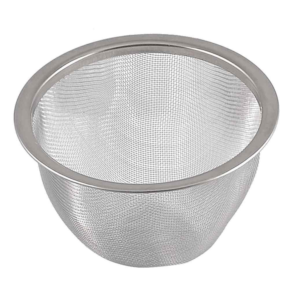 Theepot 80Mm Diameter Metalen Mesh Thee Bladeren Spice Zeef Mand Drop Shipping