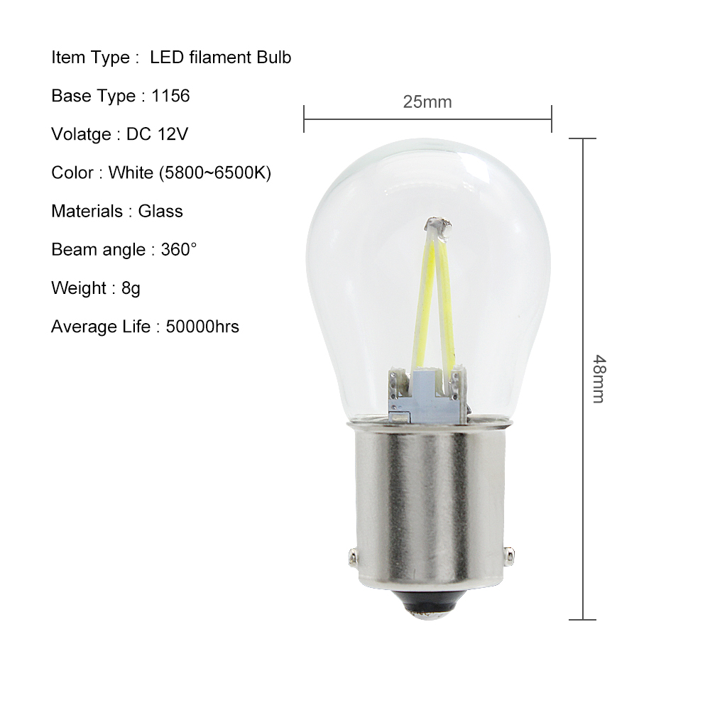 HTB1P6T7XEzrK1RjSspmq6AOdFXaA ANBLUB P21W BA15S 1156 1157 BAY15D LED Car Tail Brake Light Bulbs 12V COB Filament Auto Parking Lamp Reverse Bulb DRL Lights