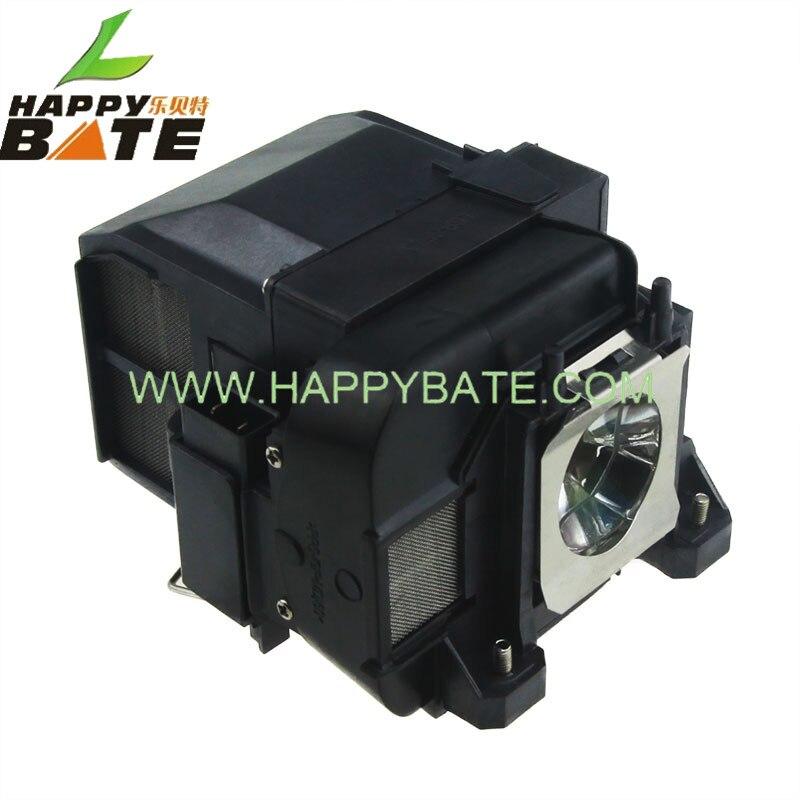 ФОТО V13H010L77 Compatible lamp with housing for PowerLite 4650/4750W/4855WU/G5910 EB-4550/EB-4750W/EB-4850WU/1970W/1975W happybate