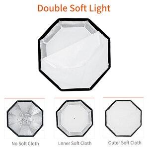 Image 5 - Godox 95 センチメートル 37.5in 折りたたみポータブル八角傘リフレクと Bowens のためのフラッシュスピードライト