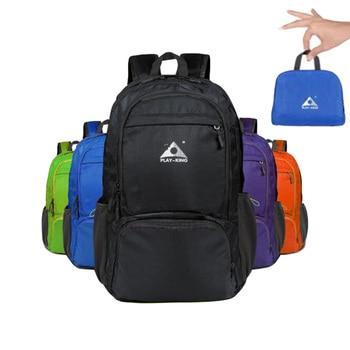 цена Waterproof Folding Luggage Backpack Travel Women Men Outdoor Sports MTB Cycling Training Swimming Bags Picnic Camping Equipment онлайн в 2017 году