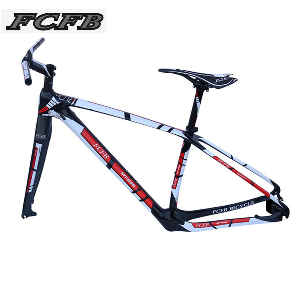 2017 FCFB MTB carbon frame15/17/19/21inch bicycle 27er 29er carbon frame carbon mountain bike frame disc carbon mtb frame PF30 2017 mtb bicycle 29er carbon frame chinese mtb carbon frame 29er 27 5er carbon mountain bike frame 650b disc carbon mtb frame 29