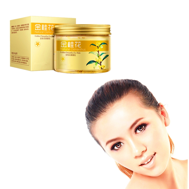 Osmanthus Anti Wrinkle Eye Patches Serum Reduces Dark Circles Bags Eye Lines Repair Nourish Firming Skin Care Snail Cream