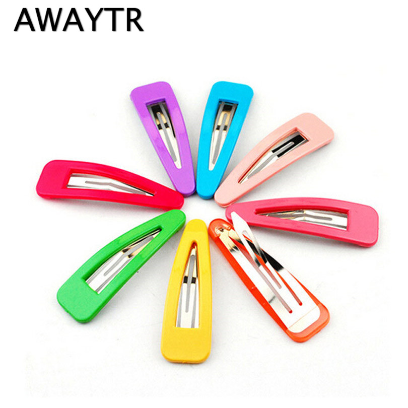 20 Pieces/Lot Mix Color Hairclips Hair Clips for Girls 2017 Fashion Hair Accessories Candy Color BB Clips Brand New Barrettes lysumduoe girl bb hair clips cute candy color hairgrip random barrette flower mix barrettes hairpin kids girls hair accessories