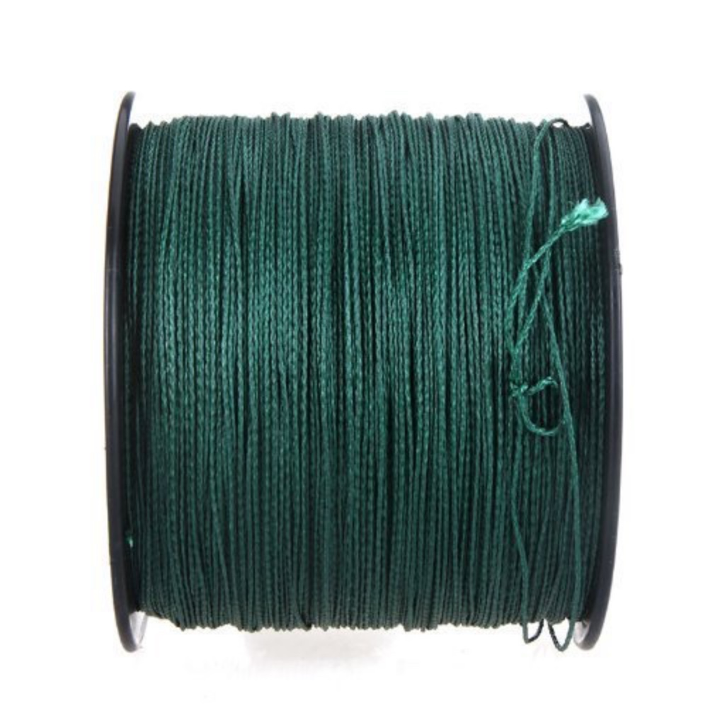 HiUmi 20lb to 200lb 300m 8 strands PE Multifilament 8 Weaves Braided Fishing Line Thread For Carp Fishing