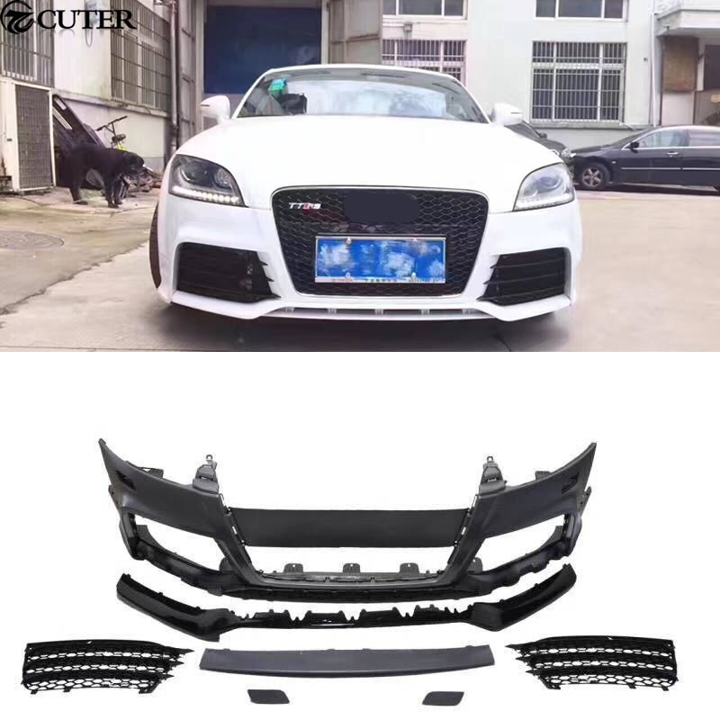 F10 F18 5 Series M5 Car body kit PP Unpainted front bumper Front