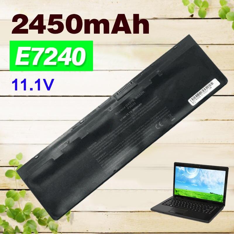2450mAh Laptop Battery WD52H For Dell Latitude 12 7000 E7240 E7440 E7250 Series KWFFN J31N7 GVD76 HJ8KP NCVF0 0WD52H 0KWFFN PT1