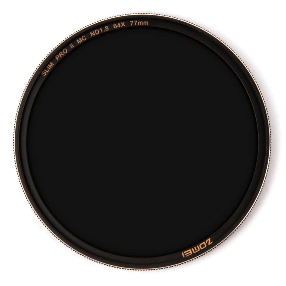 Zomei Filtro ND8 ND64 ND1000 Filter Neutral Multicoated Density Optical Glass Filter Sliver Rimmed 49 52 55 <font><b>58</b></font> 62 67 72 77 82mm image