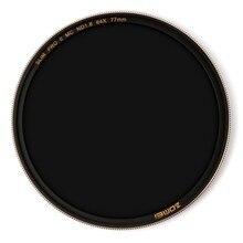 Zomei Filtro ND8 ND64 ND1000 Filtre Neutre Multicouches Densité Filtre en Verre Optique Argent Cerclée 49 52 55 58 62 67 72 77 82mm