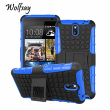 Cover For HTC Desire 610 Case D610T Soft Rubber & Hybrid PC Fundas Case For HTC 610 Fashion Mobile Phone Coque Holder Stand