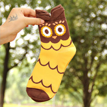 3D cartoon cotton socks