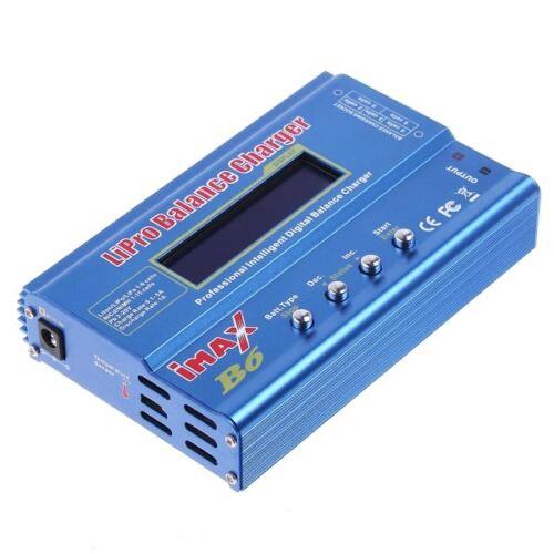 IMax B6 Цифровой ЖК RC Lipo NiMh Батареи Баланс Зарядное Устройство аксессуары