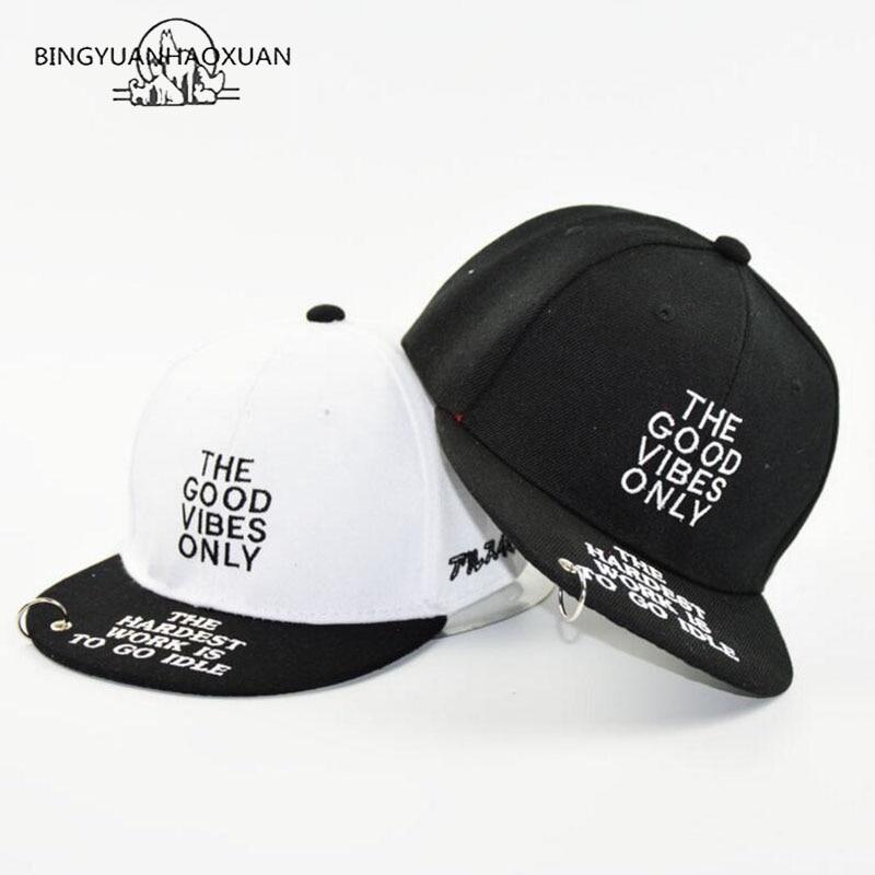 BINGYUANHAOXUAN Letter Kids Snapback Cap Hip Hop Fashion Children Baseball Gorras Boys Sport Hat