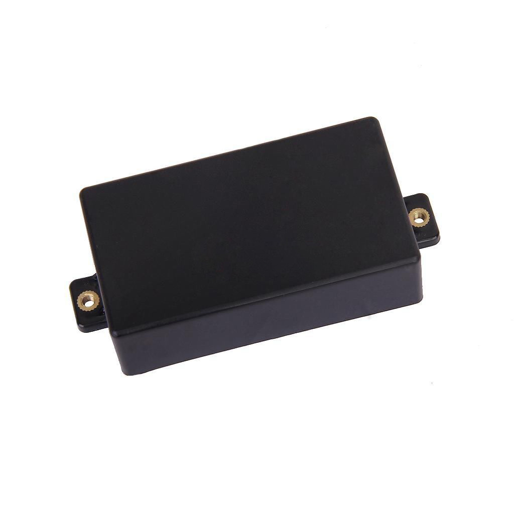New Black Plastic Sealed Humbucker Pickup Cover Case Shell For SQ ST Guitar Replacement Sealed Humbucker Cover