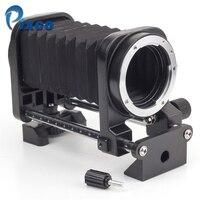 Pixco Metal Macro Faltenbalg Objektiv Stativ Verlängerung Faltenbalg Objektivanschluss Fotostudio kits Anzug Für Sony Nikon Canon Pentax