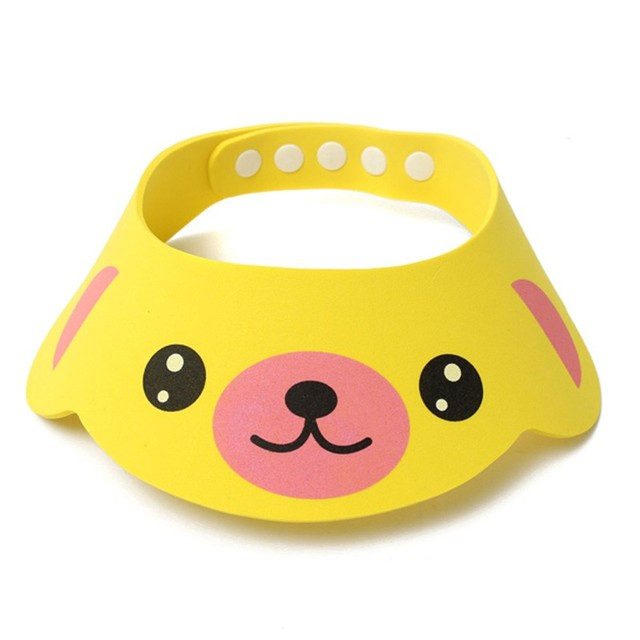 Animal Patterned Bath Visor for Babies