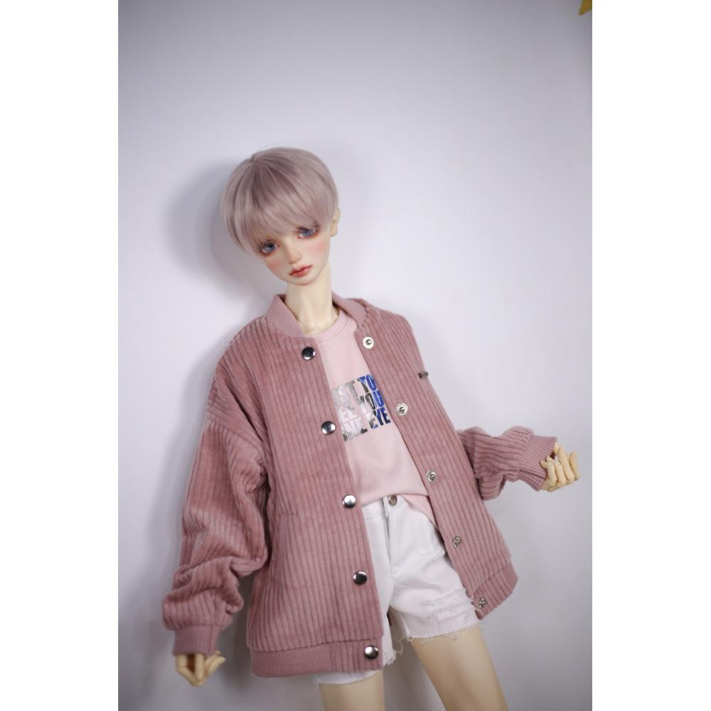 BJD Clothes Pink Jacket Coat Top Clothing For 1/4 17