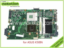laptop motherboard for ASUS K50IN 69N0F3M11C12 K40IN REV 2.2G MCP75L-B3 DDR2