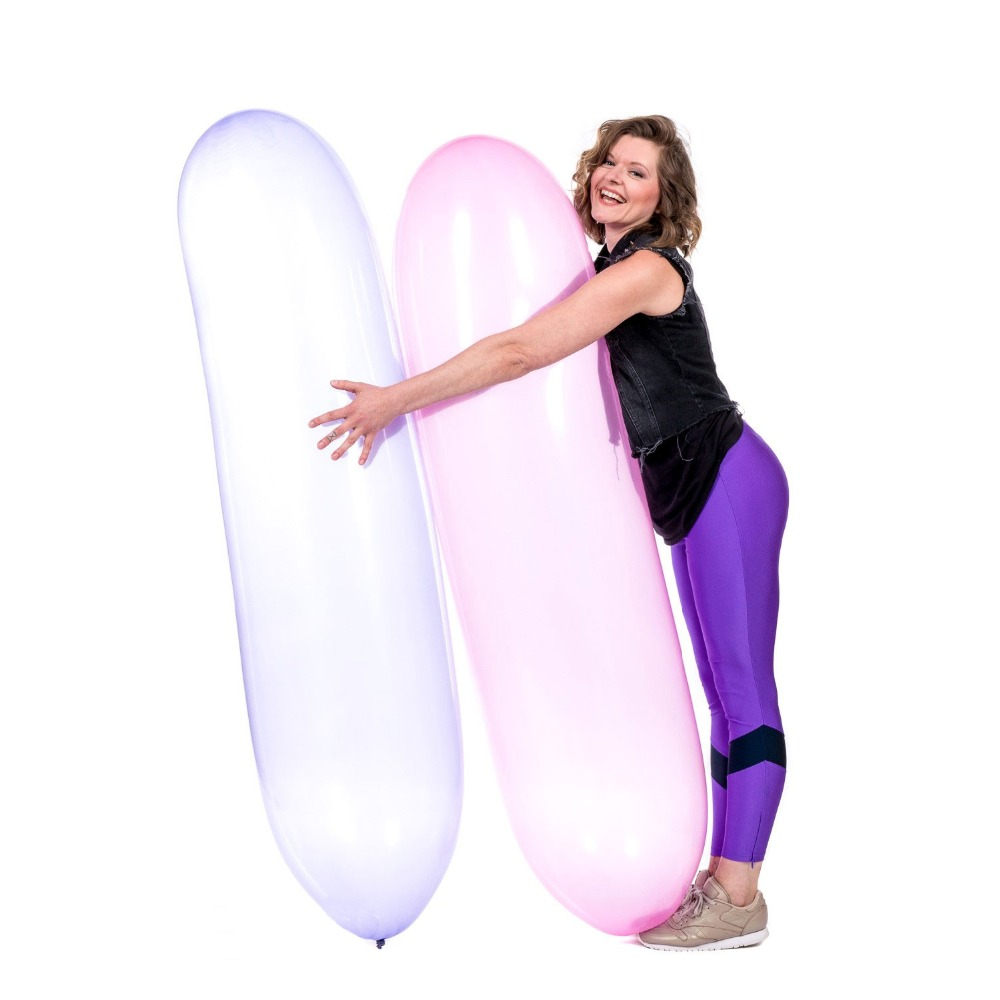 67inch 170cm Long Rocket Balloon Looner Balloons Blow To Pop Rubber Balloon Ridding Fetish Toys Party Ballon In Ballons Accessories From Home Garden On