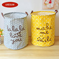 40x50cm Super Large Laundry Bag Cotton Linen Washing Laundry Basket Hamper Storage Dirty Clothing Bags Toy Storage Bag UIE449