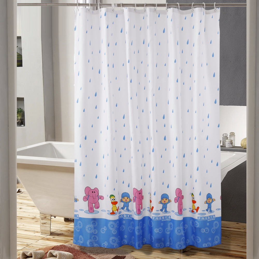 Galeria De Raindrop Shower Curtain Por Atacado