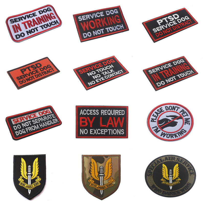 36 Color Embroidery Soldier Medal of Honor Embroidery Shoulder Arm Medal Epaulette Badge Brooch Badges for Clothes army Patch in Badges from Home Garden