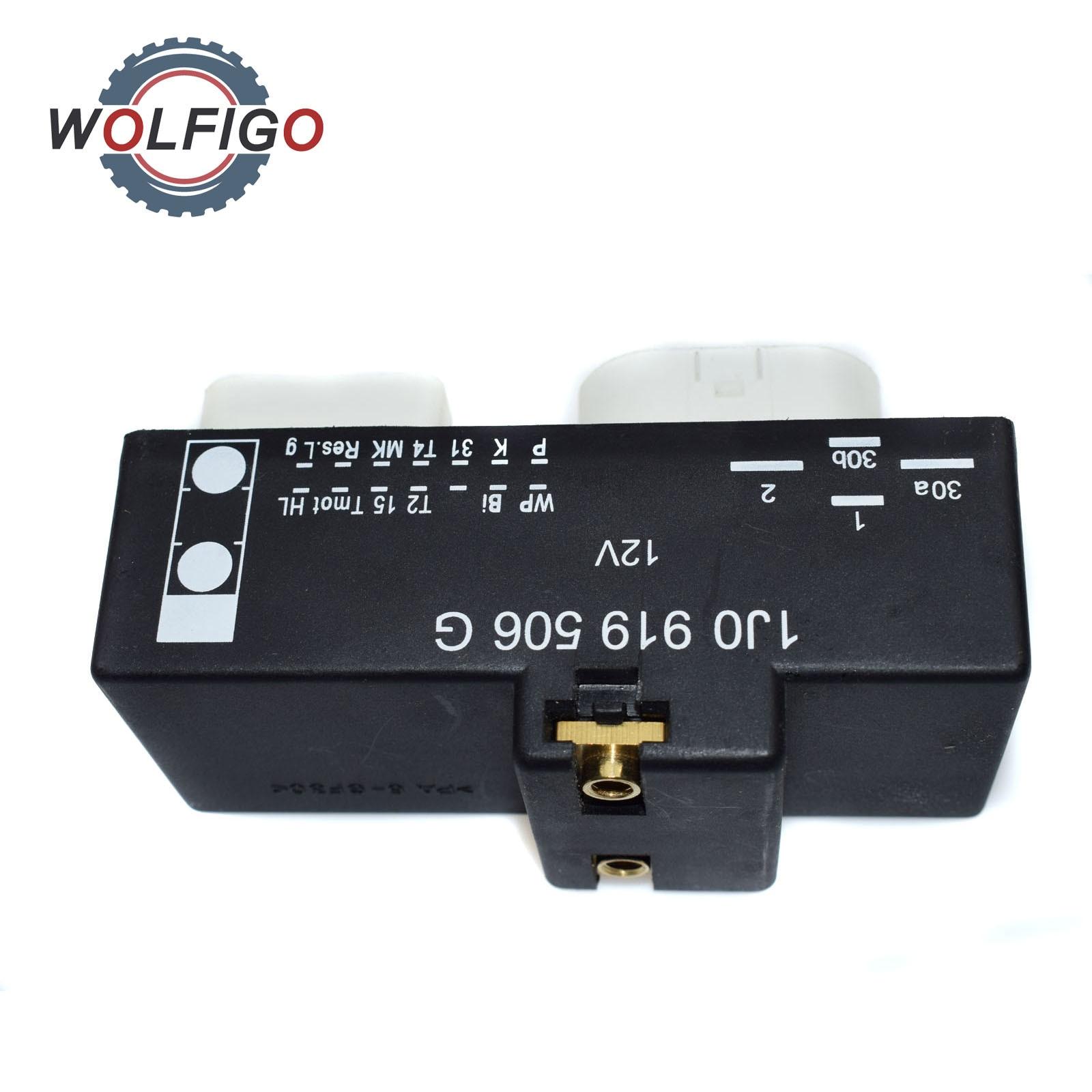 Wolfigo Cooling Fan Control Switch Relay Radiator For Vw