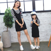 Family Matching Outfit Mom And Daughter Dress