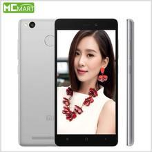 Xiaomi redmi 3 s pro primer redmi3s smartphone 3 gb + 32 gb 4g fdd teléfonos móvil 5.0 pulgadas snapdragon 430 identificación de huellas dactilares
