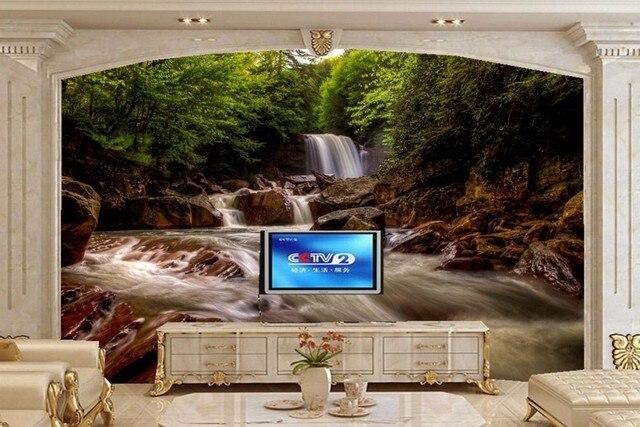 besar mural papel de parede, air terjun virginia barat sungai alambesar mural papel de parede, air terjun virginia barat sungai alam wallpaper, ruang tamu