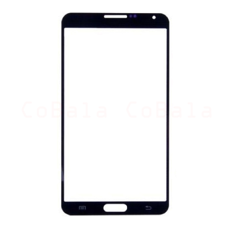 50Pcs White Black For Samsung Galaxy Note3 Note 3 Neo N750 N7505 Front Glass 5.5 Touch Screen LCD Outer Panel Repair Part