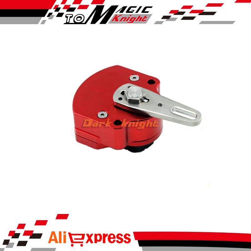 Amortiguadores de Direccion Estabilizador Universial Motocicleta roja Accesorios