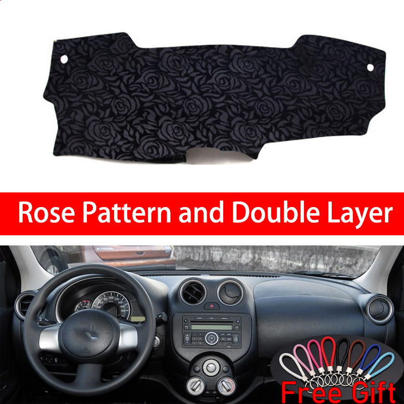 Rose Pattern For Nissan MARCH Micra K13 2010 2011 2012 2013 2014 2016 Car Stickers Car Decoration Car Accessories Car Decals