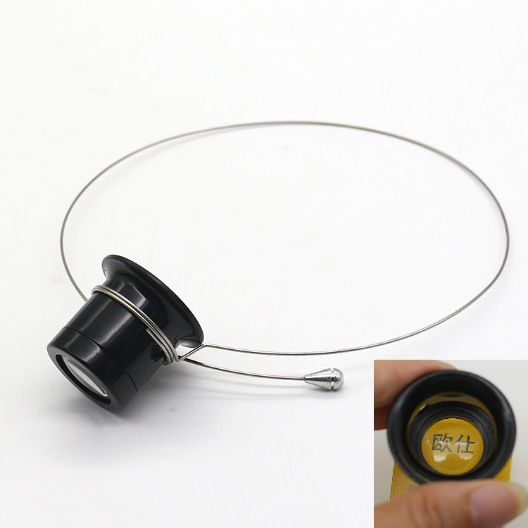 2018 HOT 10X 5X Magnifier Glasses Loupe Lens Jeweler Watch Repair Measurement