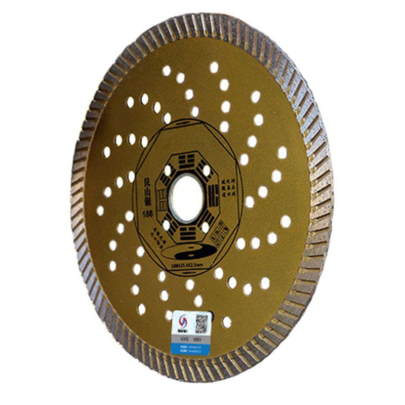 RIJILEI 230 * 25,4 * 2,5 lama da taglio ultrasottile per piastrelle - Lama per sega - Fotografia 2