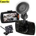 2016 Nueva Novatek 2 lente Del Coche DVR de Doble Cámara G30 1080 P Grabador de Vídeo Con Cámaras de Visión Trasera de Visión Nocturna de la Videocámara BlackBox