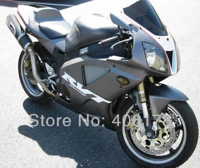 Hot Sales,Cheap VTR 1000 00-06 RC51 SP1 SP2 2000-2006 Fairings for Honda Rc51 Rrvt1000RR 2000-2006 Dark Gray Motorcycle Fairings