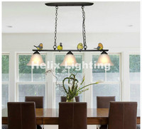 Nordic 3L Pendant Lights Northern Europe Industrial Bird Lightings For Cafe Bar Retro Edison Loft Pendant