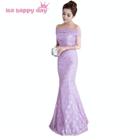 Soeur de mariée bleu royal femmes sexy rose longues robes de soirée 2019 vin rouge robe de soirée formelle robes avec dentelle H3917