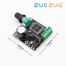 2x15 Вт PAM8610 Класс D Цифровой двойной мощности аудио усилитель доска 12 В