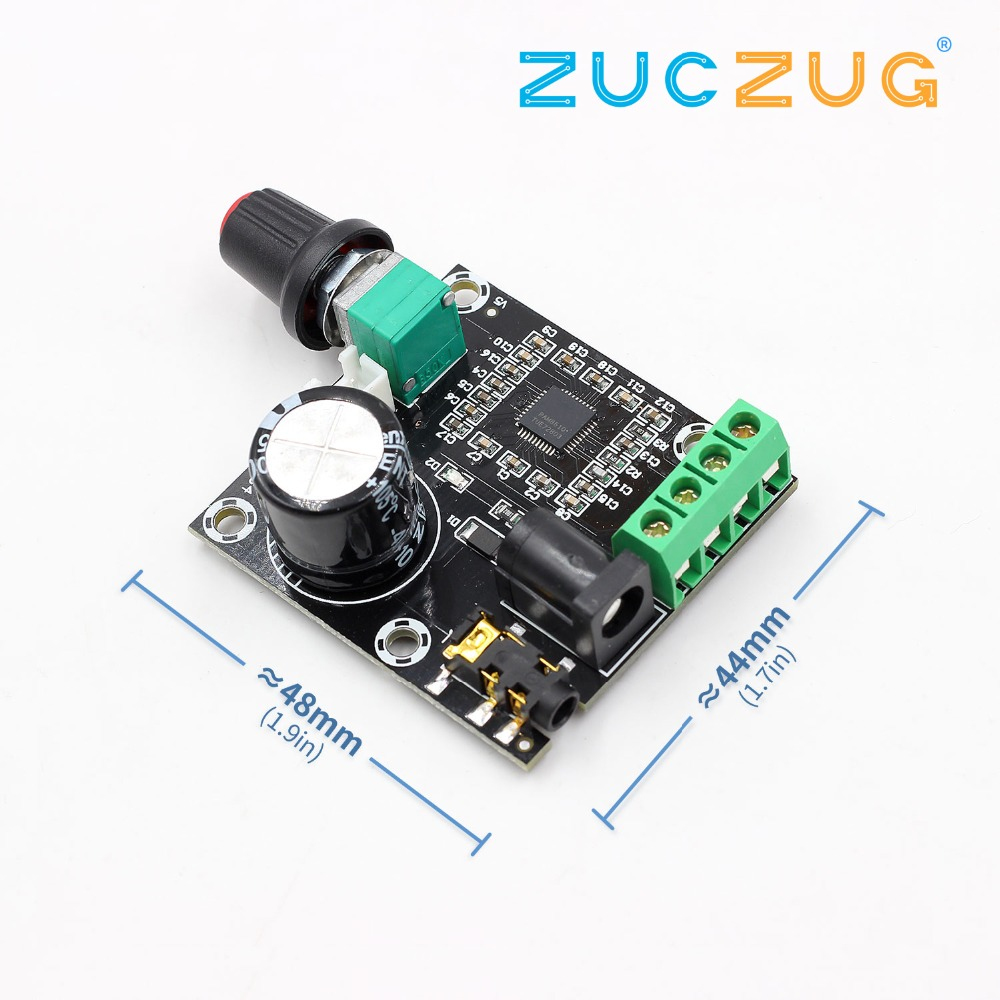 2 X 15W PAM8610 Class D Digital Dual Power Audio Amplifier Board 12V