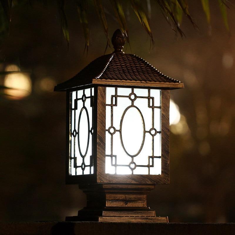 Online get cheap aluminum solar lights post aliexpress outdoor solar post cap lighting garden lamp garden spot light waterproof outdoor light for garden led mozeypictures Gallery