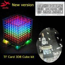 新ミニ多色 電子 8 led