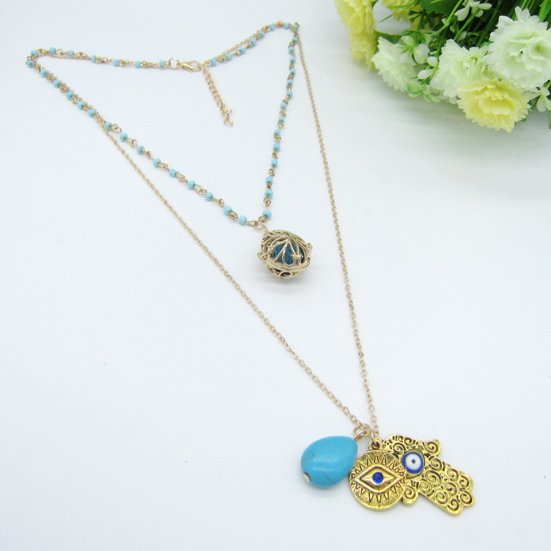 Well-Selling Vintage Tribal Charms Two Layered DIY Locket Oi