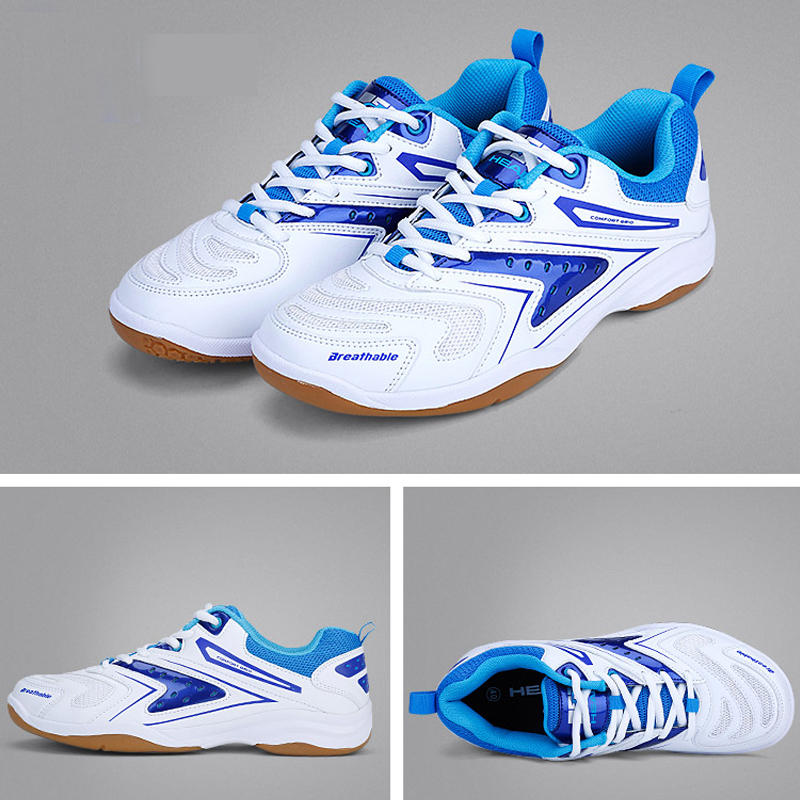 HEAD Sneakers Mens Badminton Shoes Professional Anti-Slippery Breathable Women Athlete Indoor Sports Shoes For Badminton li ning professional badminton shoe for women cushion breathable anti slippery lining shock absorption athletic sneakers ayal024