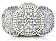 YU20-4 Kristall Abendtasche Clutch Pfau diamant pochette soiree Frauen abend handtasche hochzeit clutch tasche